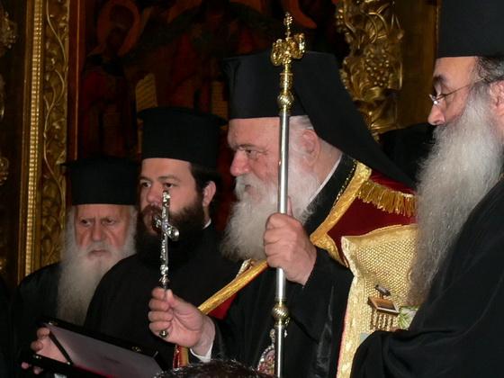 Визит архиепископа Афинского и всея Эллады