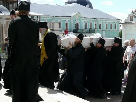 Похороны архимандрита Феодора