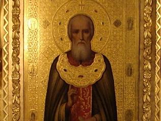 Образ преподобного Сергия на лаврских иконах и изображениях