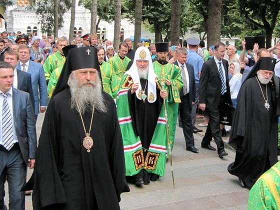 Святейший Патриарх Кирилл посетил Троице-Сергиеву Лавру