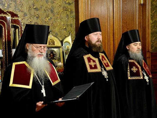 Чин наречения архимандрита Гедеона (Губка) во епископа Георгиевского и Прасковейского